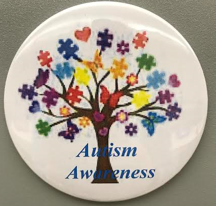 Autism Awareness Magnets, Tree