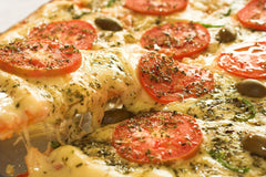 Sprinkle Dried Oregano on Pizza