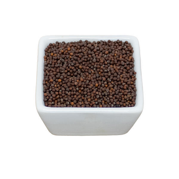Organic Mustard Seeds, Brown (Whole) - Bulk Bag
