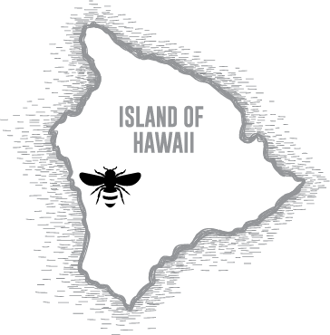 Our Hawaiian Wildflower Honey is grown in Captain Cook, Hawaii.