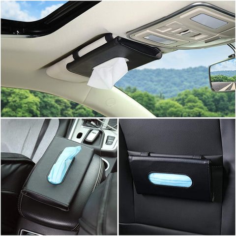Tissue and mask dispenser for your car