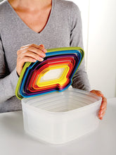 Joseph Joseph Nested Food Storage Containers with Airtight Lids