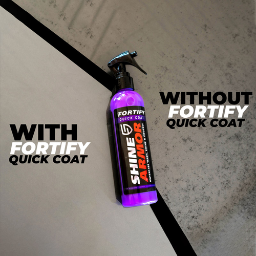 Shine Armor Fortifying Ceramic Quick Coat Vehicle Detail Spray