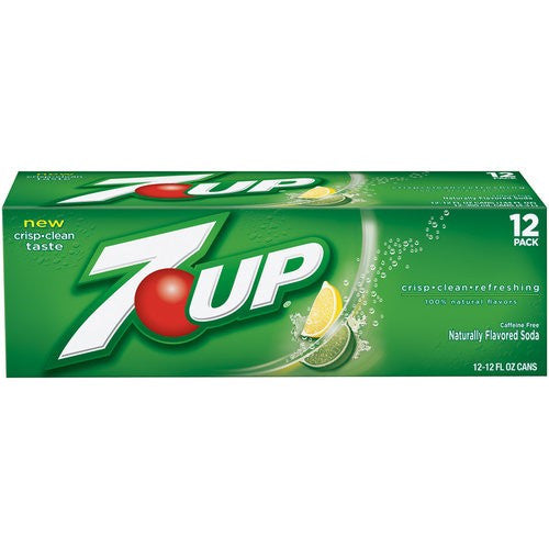 7 Up Soda Cool Pack, 12 oz, 12pk