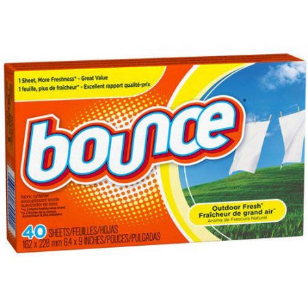 Bounce Dryer Sheets, Outdoor Fresh 40 ct box