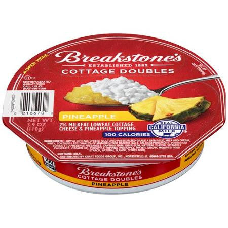 Breakstone's 100 Calorie Pineapple Cottage Doubles, 3.9 oz
