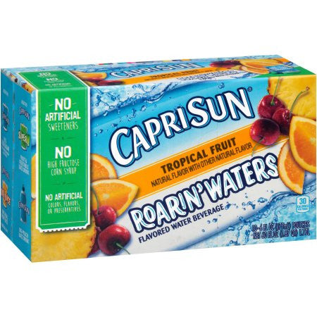 Capri Sun Roarin' Waters Tropical Fruit, 6 fl oz, 10 count