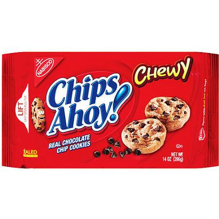 Nabisco Chips Ahoy Chewy Chocolate Chip Cookies, 13 oz
