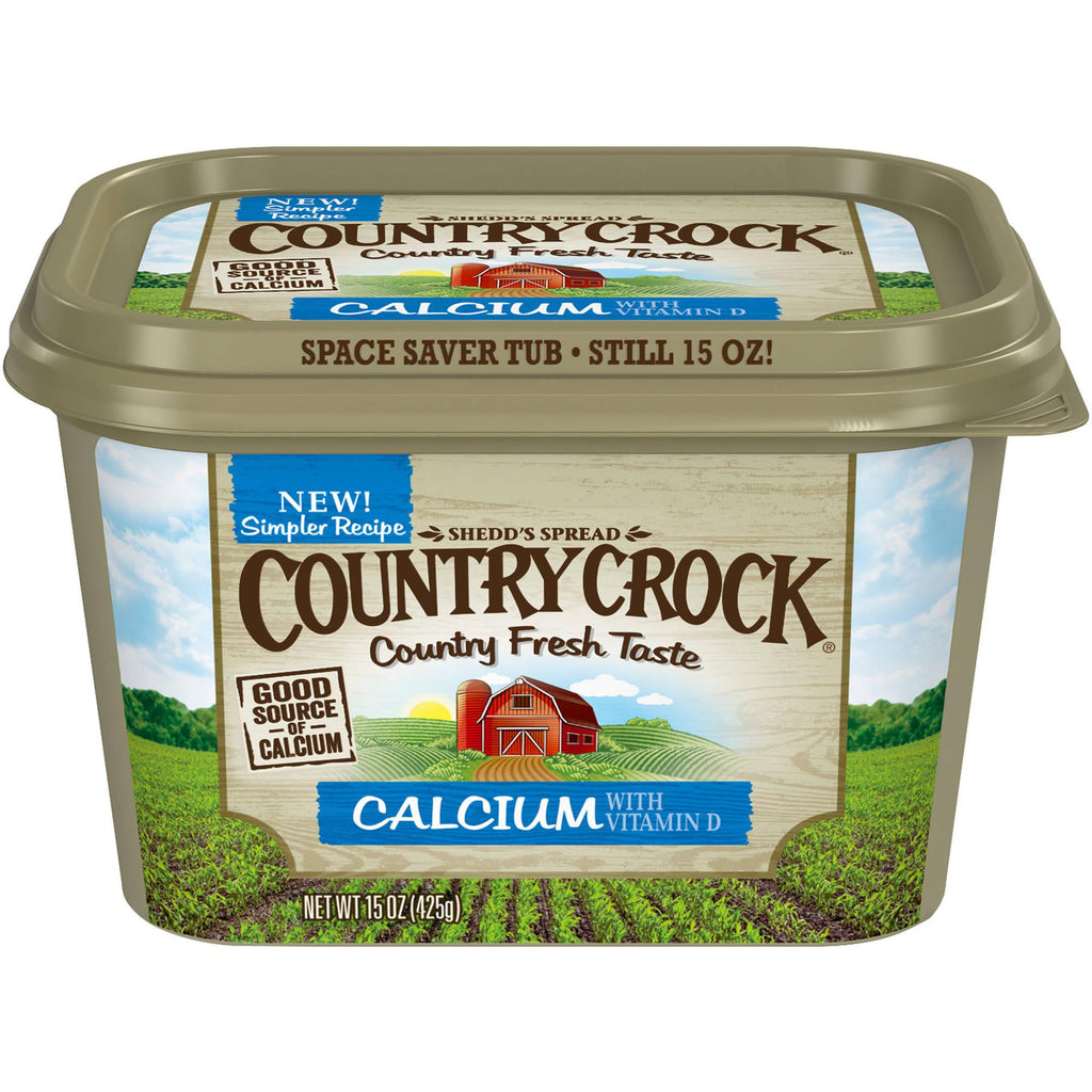 Country Crock, Plus Calcium Spread 15 oz tub
