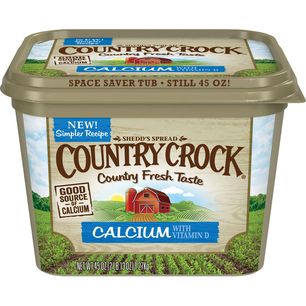 Country Crock, Plus Calcium Spread 45 oz tub