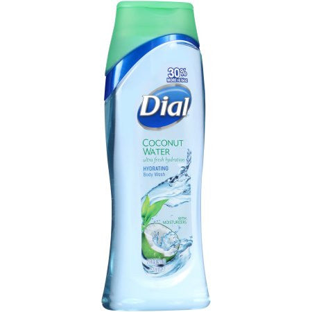 Dial Coconut Water Ultra Fresh Hydration Hydrating Body Wash 21 fl. oz. Squeeze Bottle