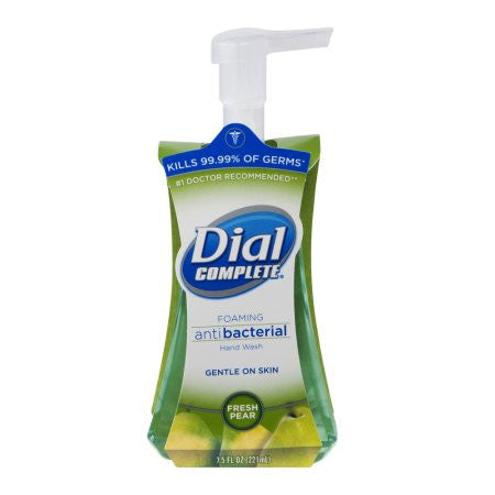 Dial Complete Foaming Antibacterial Hand Wash Fresh Pear, 7.5 FL OZ