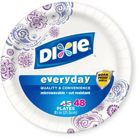 Dixie Everyday Paper Plates, 8.5