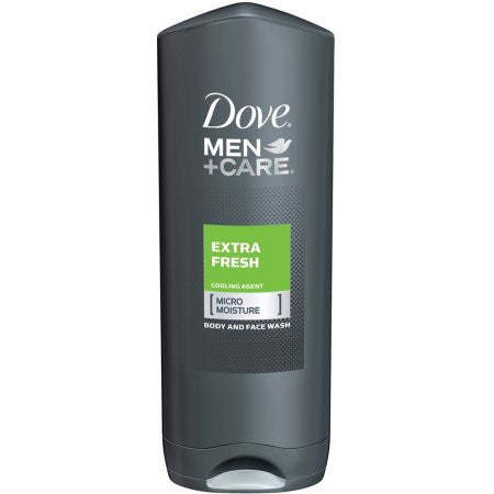 Dove Men Plus Care Body And Face Wash, Extra Fresh - 13.5 Oz