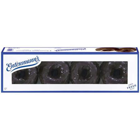 Entenmann's: Frosted Devil's Food 8 Ct Donuts, 19 Oz