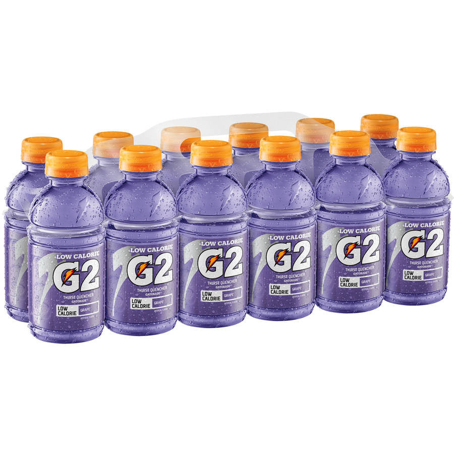 Gatorade G2 Low Calorie Electrolyte Grape Sports Drink, 12 Ct/144 Fl Oz