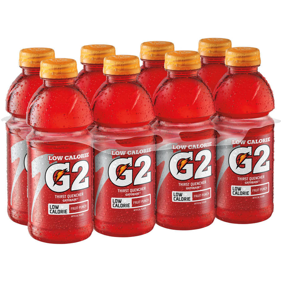 Gatorade G2 Low Calorie Fruit Punch Sports Drink, 8 Ct/160 Fl Oz
