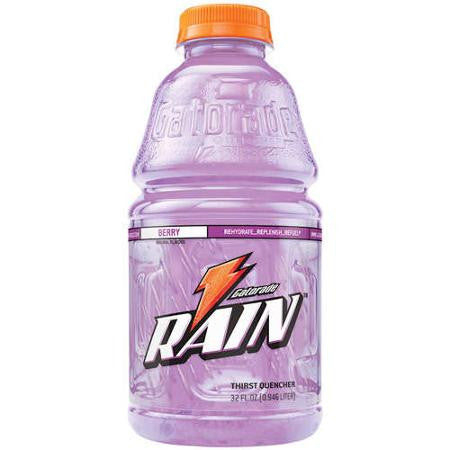 Gatorade Rain Thirst Quencher Berry Sports Drink, 32 Fl Oz