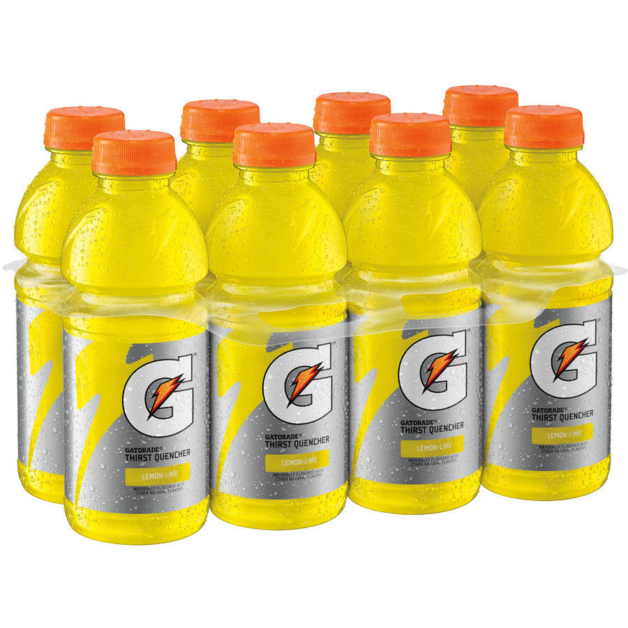Gatorade Thirst Quencher Lemon-Lime Sports Drink, 20 fl oz, 8 pack