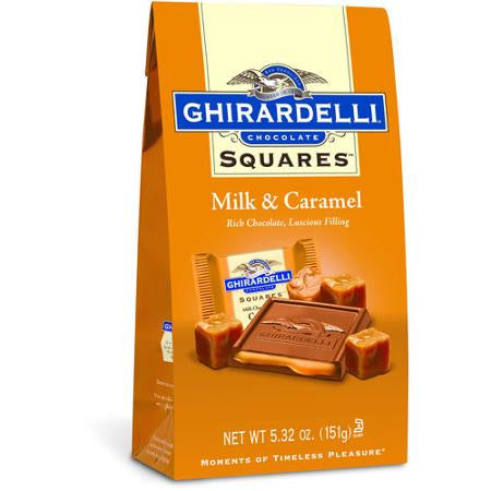 Ghirardelli Chocolate Squares Milk & Caramel Chocolate, 5.32 oz