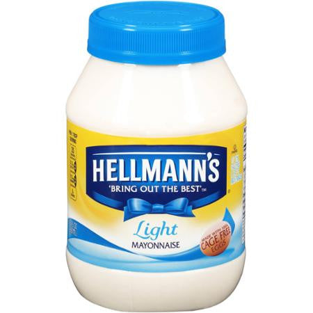 Hellmann's Mayonnaise Light 30 oz