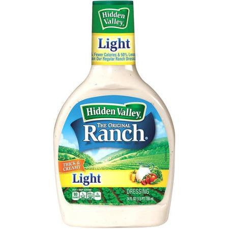 Hidden Valley Original Ranch Light Dressing, 36 oz