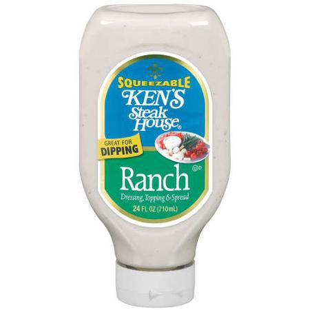 Ken's Steak House Ranch Dressing Topping & Spread, 24 oz
