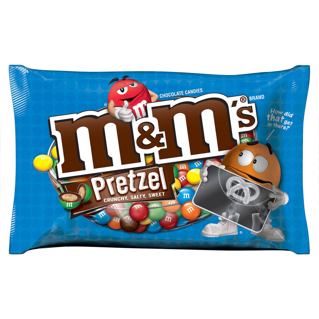M&M'S Pretzel Chocolate Candies, 15.4 oz