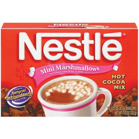 Nestle Mini Marshmallow Hot Cocoa 6 ct