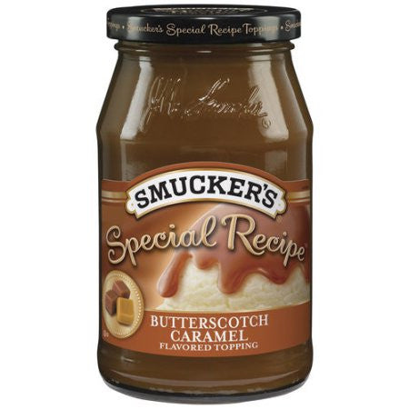 Smucker's Special Recipe Butterscotch Caramel Topping, 19 oz
