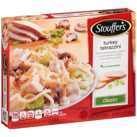 Stouffer's Signature Classics Turkey Tetrazzini, 12 oz
