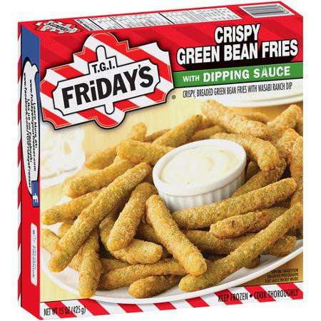 T.G.I. Friday's Crispy Green Bean Fries with Dipping Sauce, 15 oz