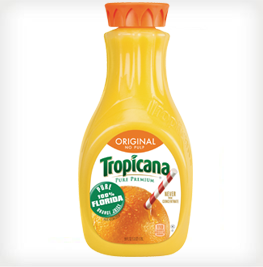 Tropicana Pure Premium Orange Juice with No Pulp, 59 fl oz