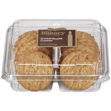 The Bakery Soft Signature Snickerdoodle Cookies 12 ct