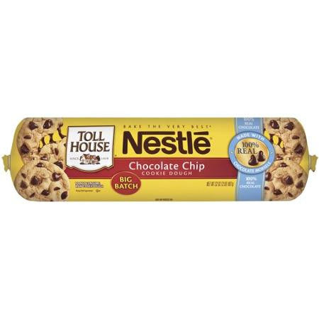 Toll House Cookie Chocolate Chip Dough, 32 oz