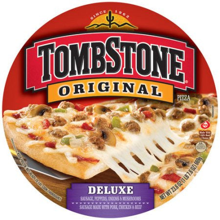 Tombstone Original Deluxe Pizza, 23.6 oz