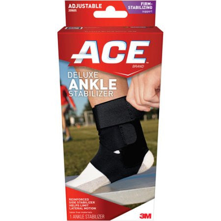 ACE Deluxe Ankle Stabilizer 209605, One Size Adjustable