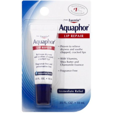 Eucerin Aquaphor Lip Repair, 0.35 oz
