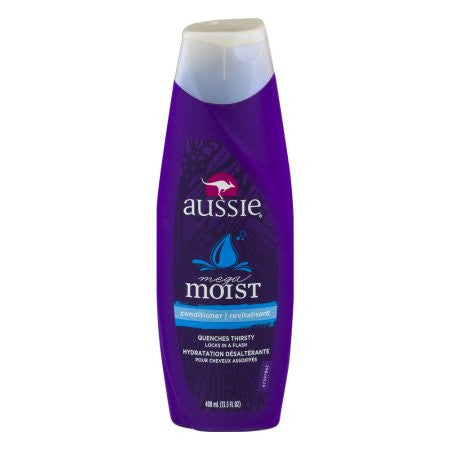 Aussie Mega Moist Conditioner, 13.5 FL OZ