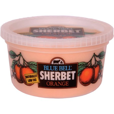 Blue Bell Orange Sherbet, 1 qt