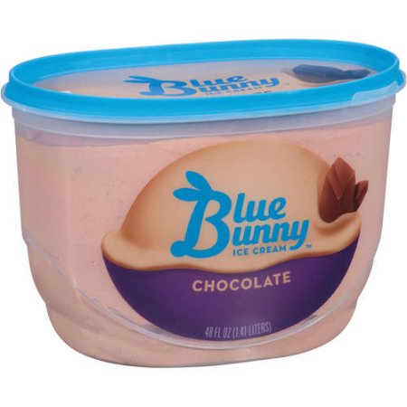 Blue Bunny Chocolate Ice Cream, 48 fl oz