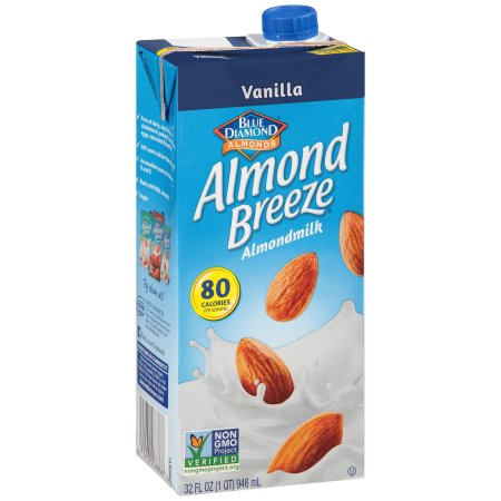 Blue Diamond Almond Breeze Vanilla Almondmilk, 32 fl oz