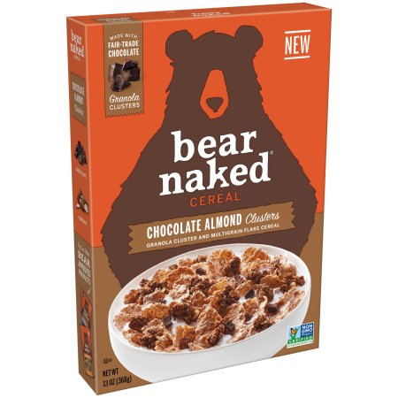 Bear Naked Chocolate Almond Clusters Cereal, 13 oz