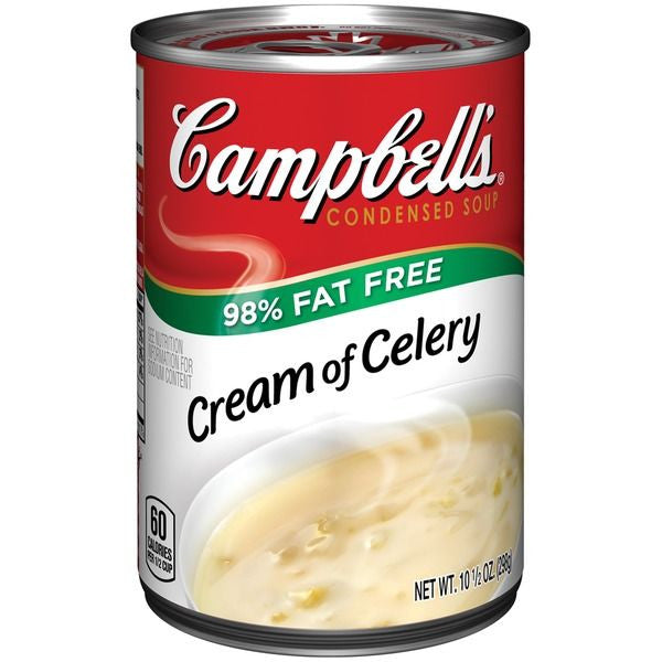 Campbell's Cream Of Celery Condensed Soup, 10.5 oz