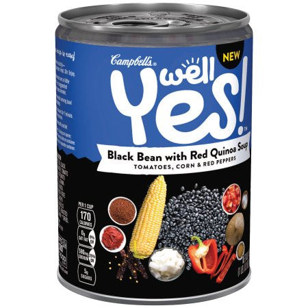 Campbell's Well Yes! Tomatoes, Corn & Red Peppers Soup, 16.3 oz