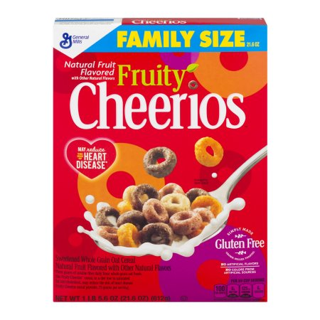 Cheerios, Fruity 21.6 oz