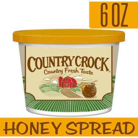 Country Crock Honey Vegetable Oil Spread, 6 oz