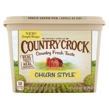 Country Crock Churn Style Vegetable Oil, 45 oz
