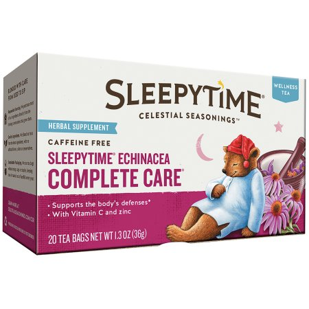 Celestial Seasonings Sleepytime Echinacea Complete Care Wellness Tea Tea Bags, 20 ct, 1.2 oz