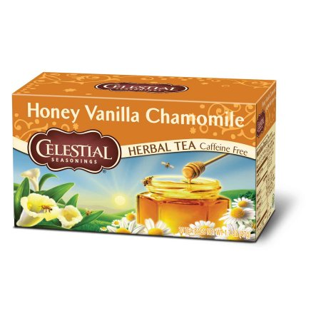 Celestial Seasonings Honey Vanilla Chamomile Herbal Tea, 20ct
